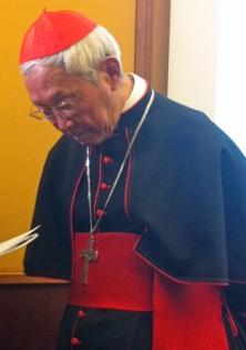 Cardeal Zen Ze-kiun em conferência organizada pelo Acton Institute